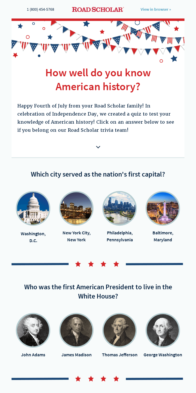 Take our Fourth of July quiz: How well do you know American history?