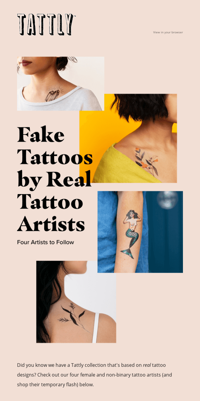 Tattly by Real Tattoo Artists