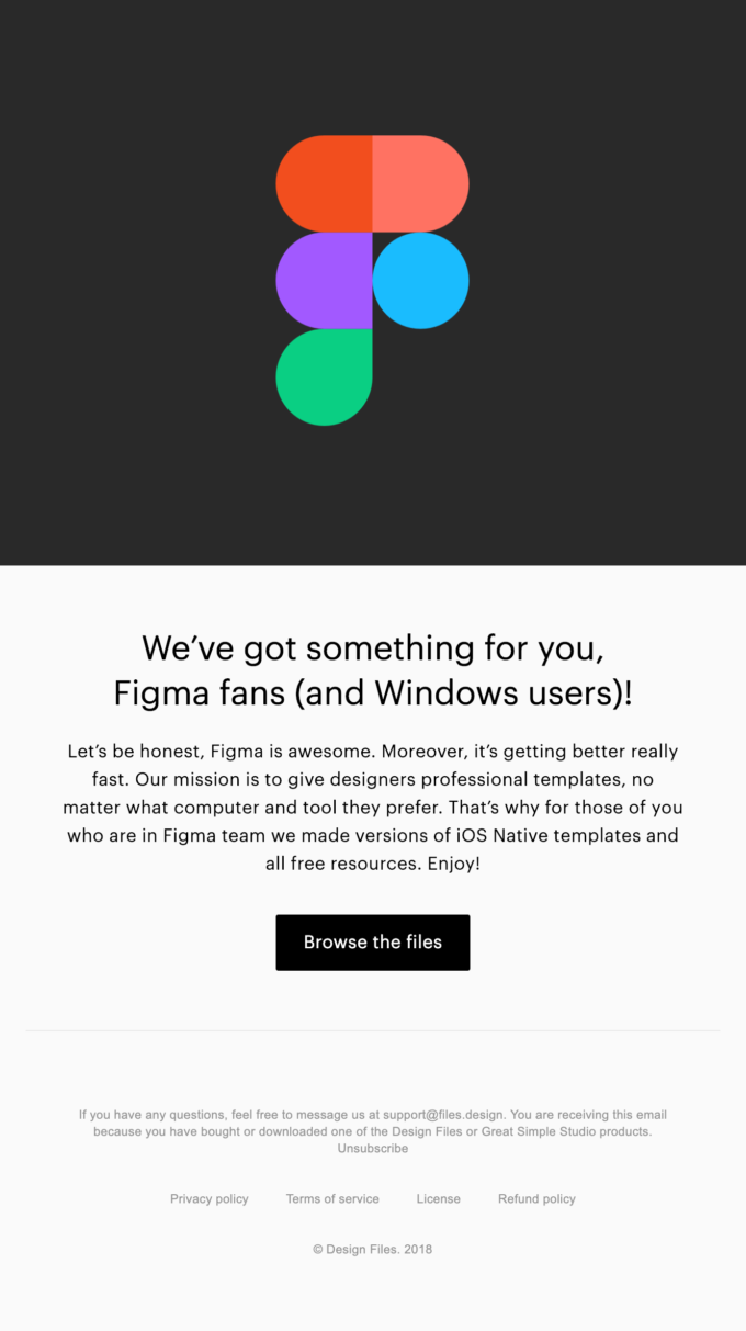 Templates for Figma 👾 Now available on Design Files | Really Good