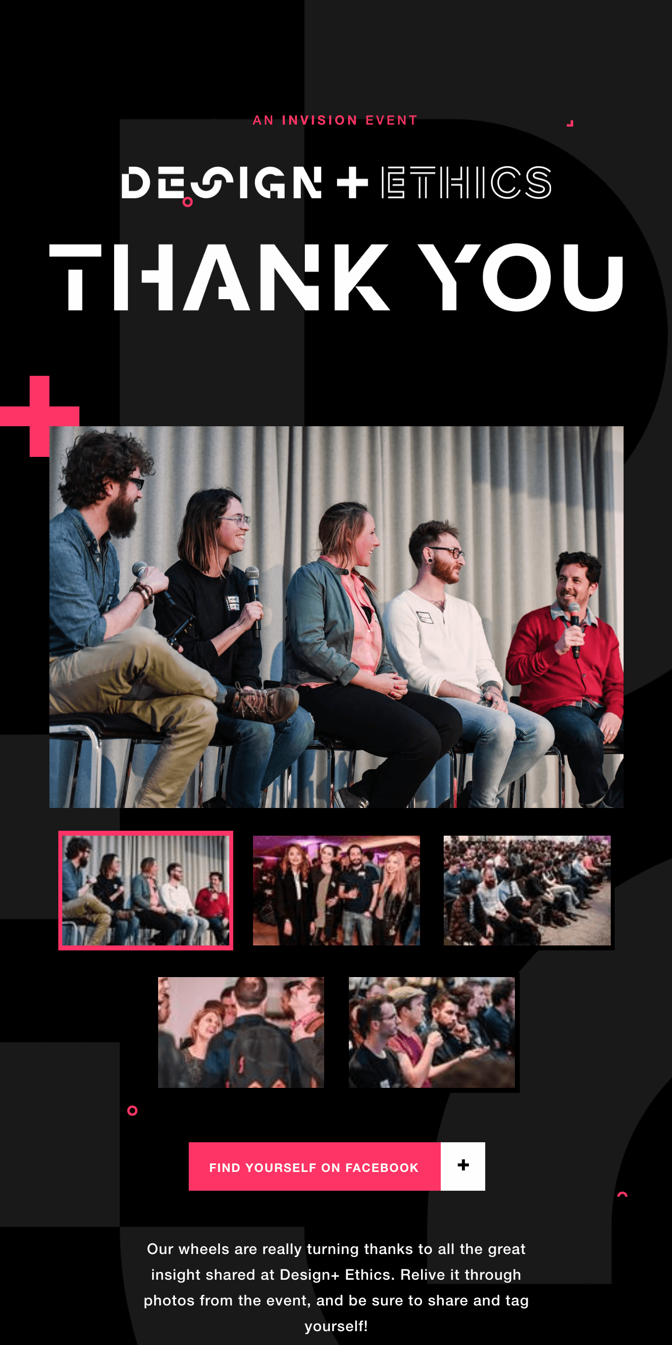 Thanks for coming to Design+ Ethics! Check out professional shots from the event