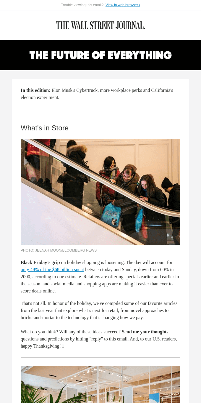 The Future of Everything: Black Friday's Clout