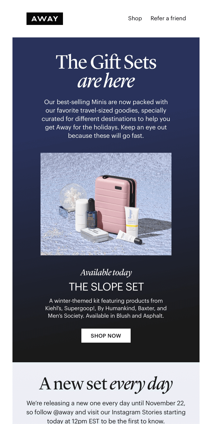 The Gift Sets are back!