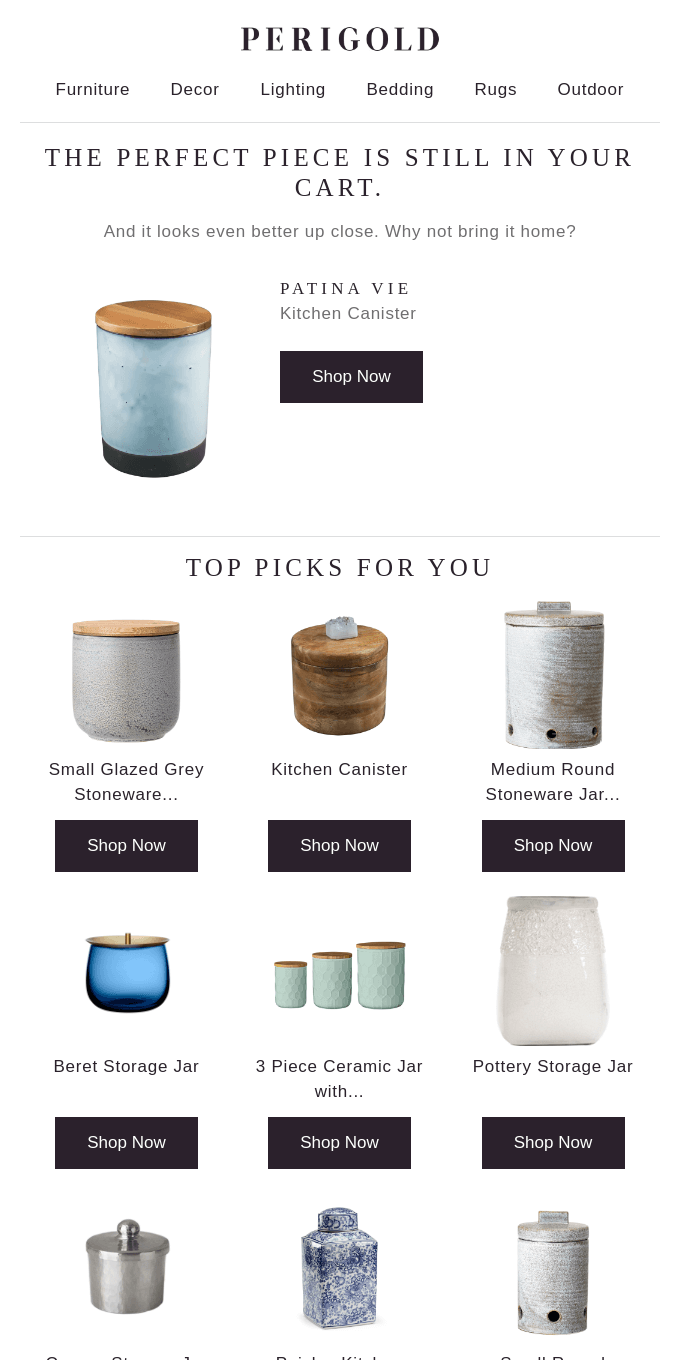 The Kitchen Canister is in your cart →