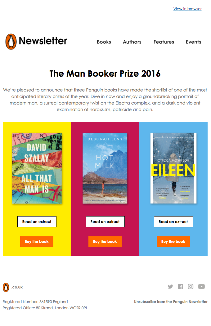 The Man Booker Prize shortlist 2016