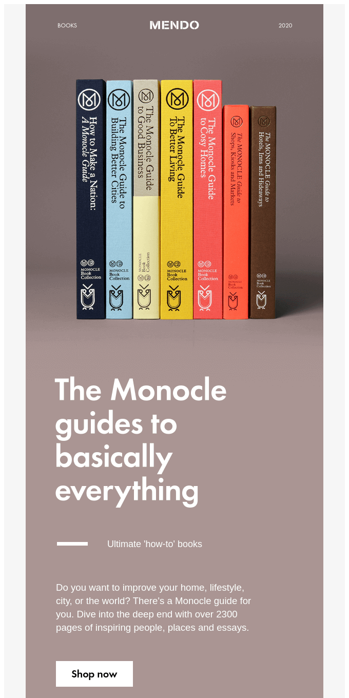 The Monocle guides to basically everthing
