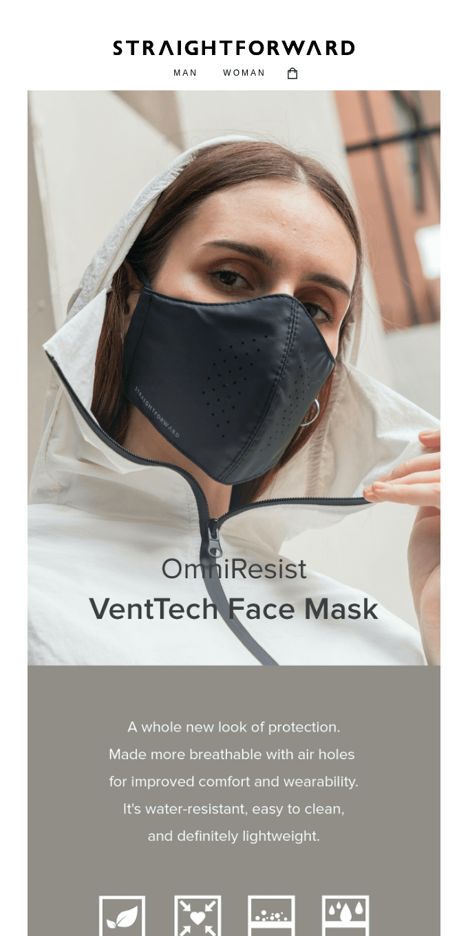 The New OmniResist VentTech Mask