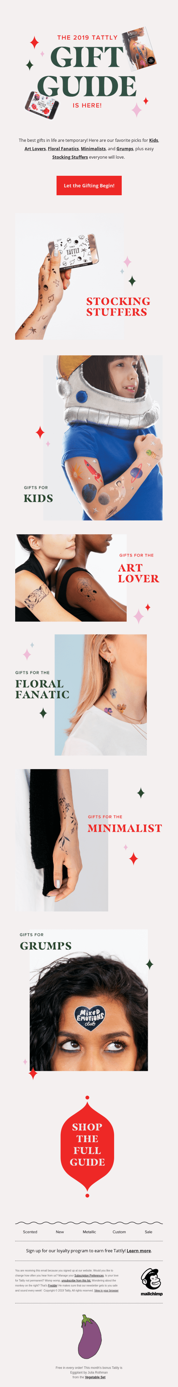 The Tattly Gift Guide is Here