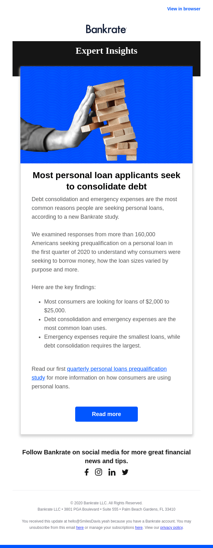 The top reason people seek personal loans