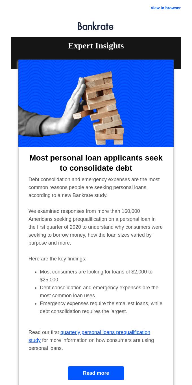 The top reason people seek personal loans