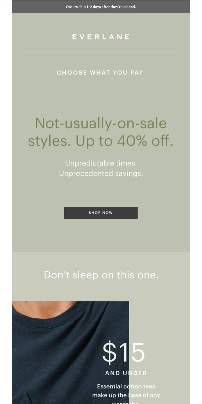 These Styles Wouldn't Usually Go On Sale