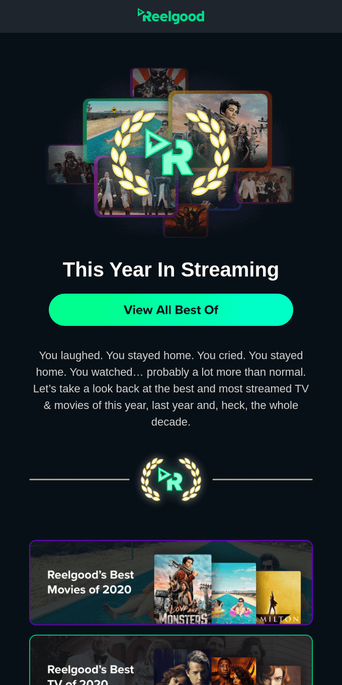 This Year in Streaming 🏆