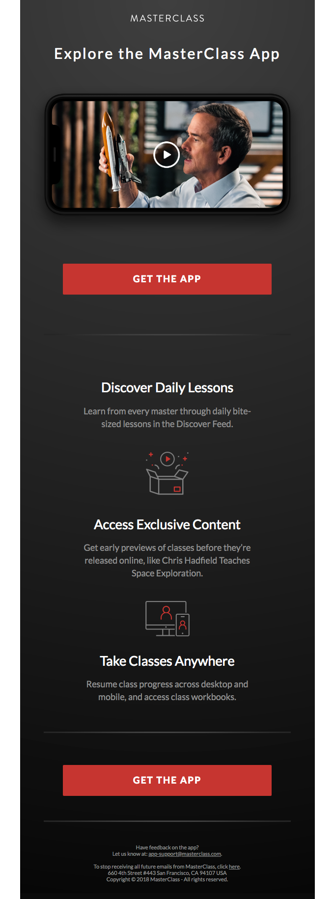 Three reasons to love our new app