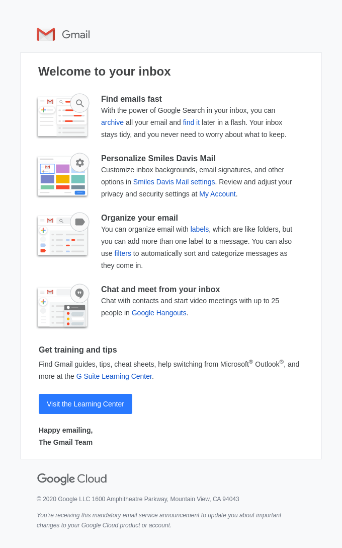 Tips for using your new inbox