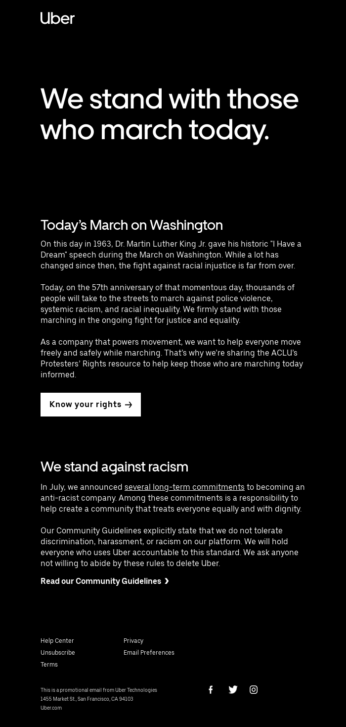 Today's March on Washington