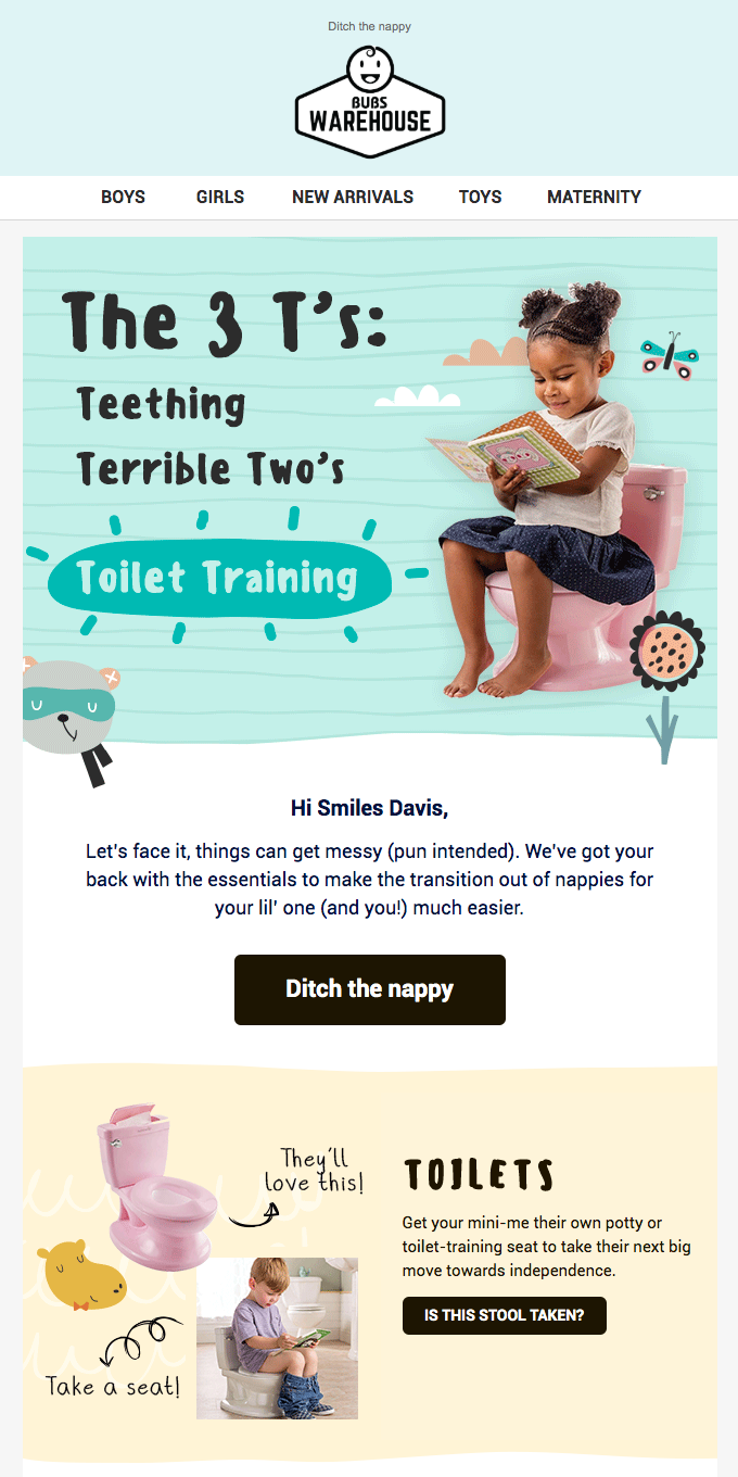 Toilet Training? Check out these must-have items!