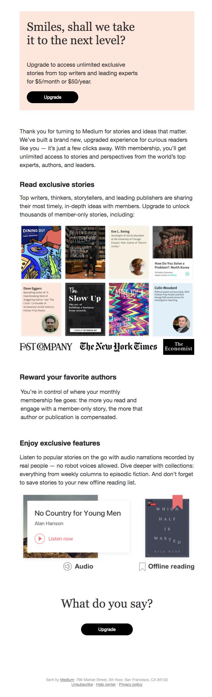 Unlock the best of Medium with membership