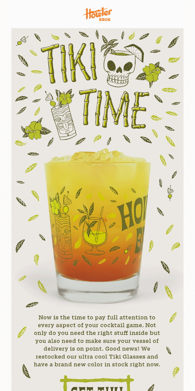 Up your cocktail game.