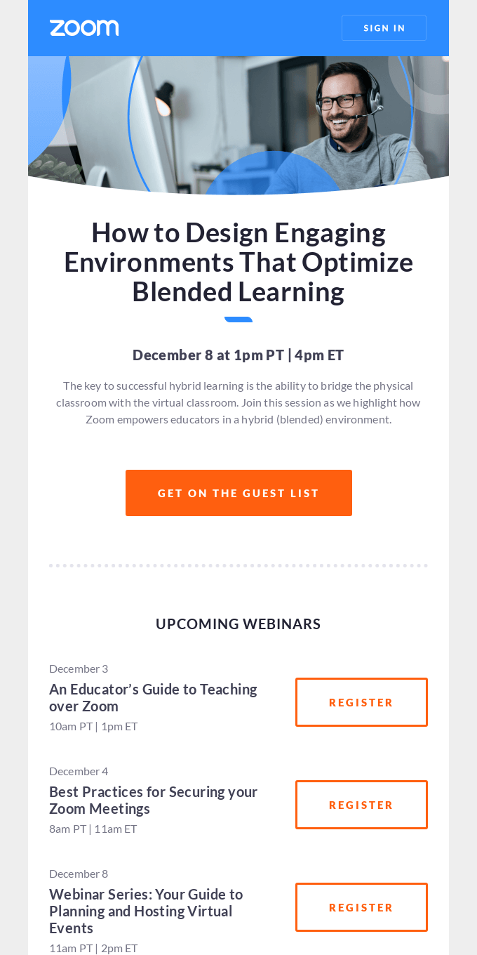 [Upcoming Webinar] How to Design Engaging Environments That Optimize Blended Learning