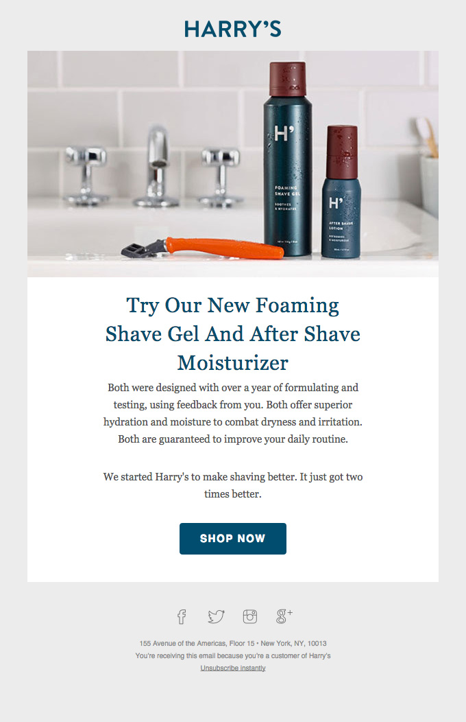 Shaving just got two times better