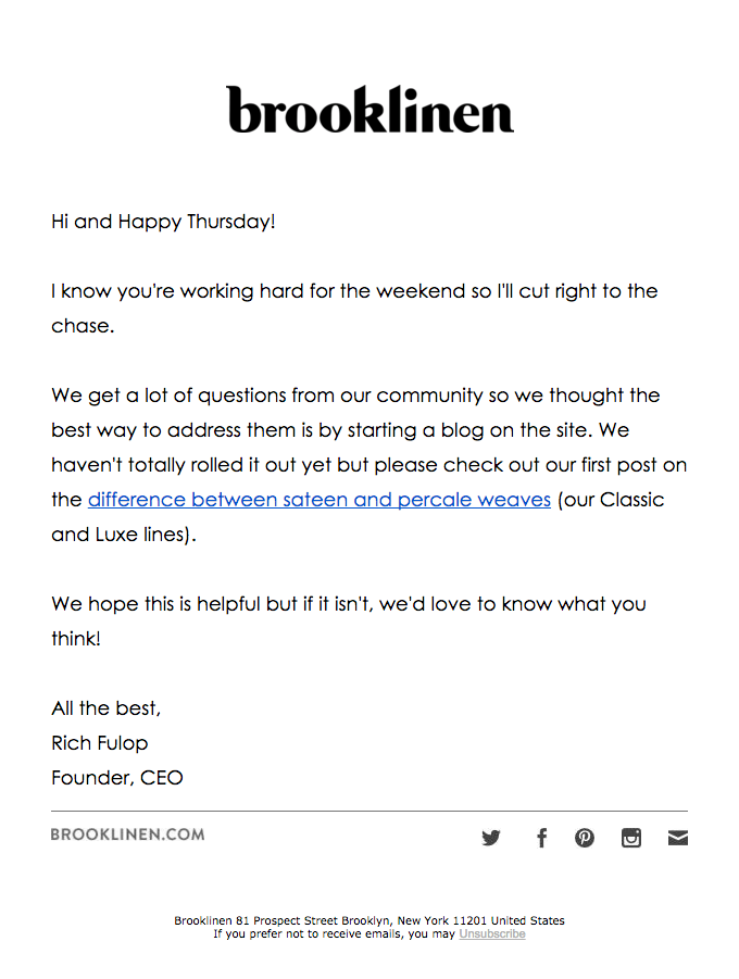 Vanilla or Chocolate? | Really Good Emails