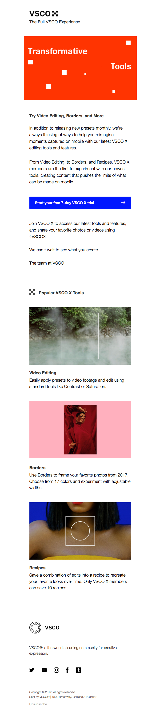 VSCO's Newest Editing Tools
