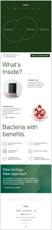Wait, what's a synbiotic?