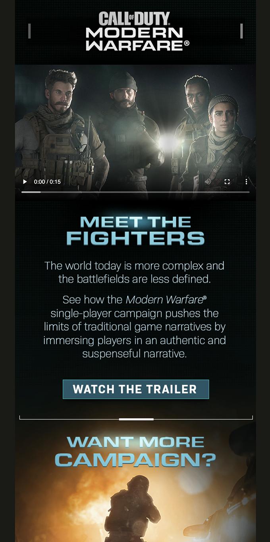 Watch the NEW Modern Warfare Campaign Trailer
