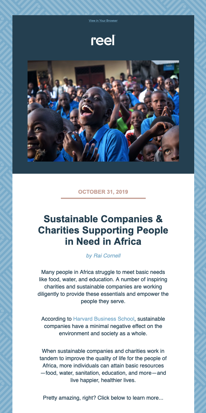 We ❤️These Sustainable Companies and Charities