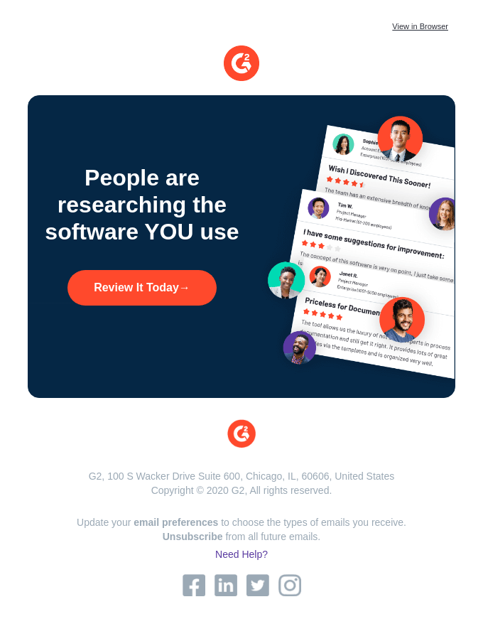 We need your software stories!