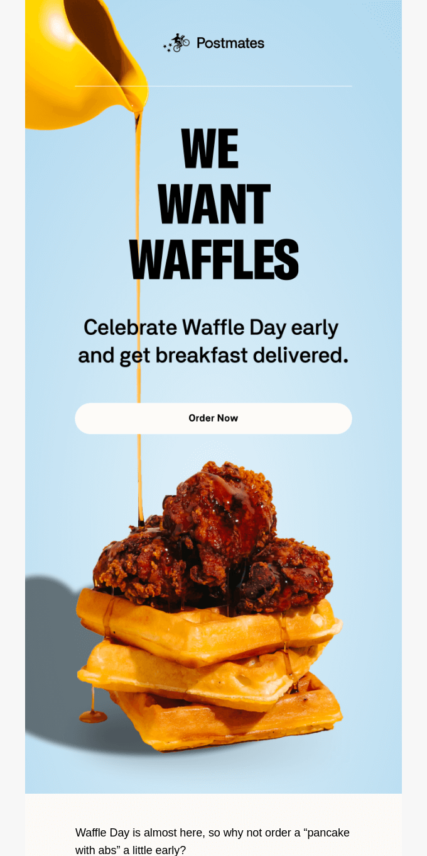 We think you should order...