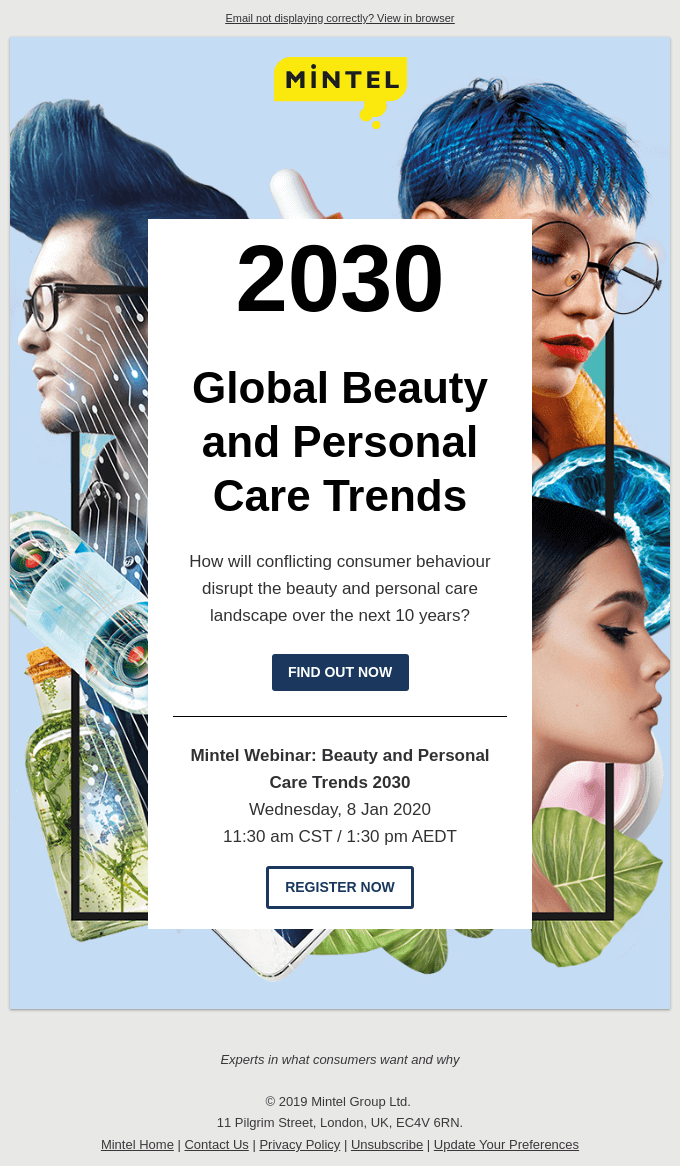 [WEBINAR] Discover the 2030 Global Beauty & Personal Care Trends
