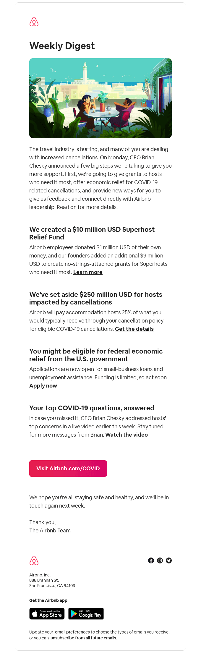 Weekly Digest: $250 million USD for hosts