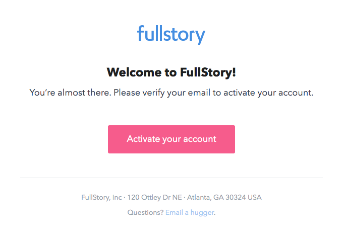 Welcome to FullStory