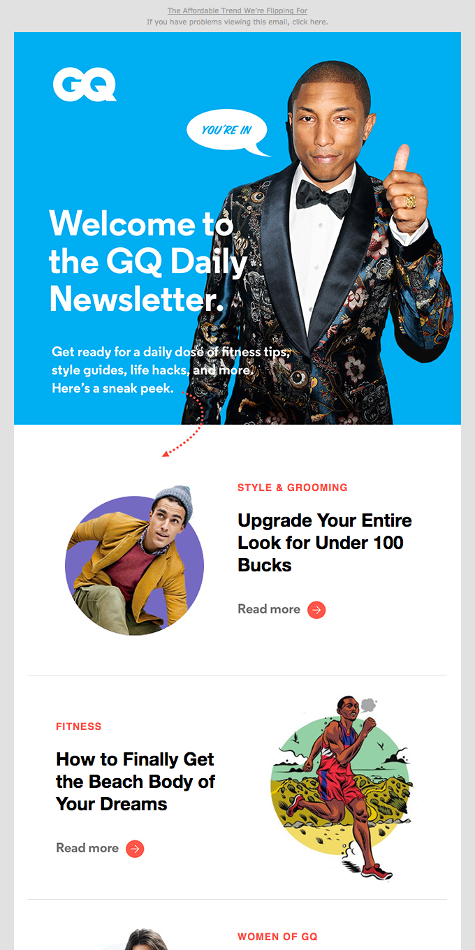 Welcome to GQ's Guide to Upgrading Your Life
