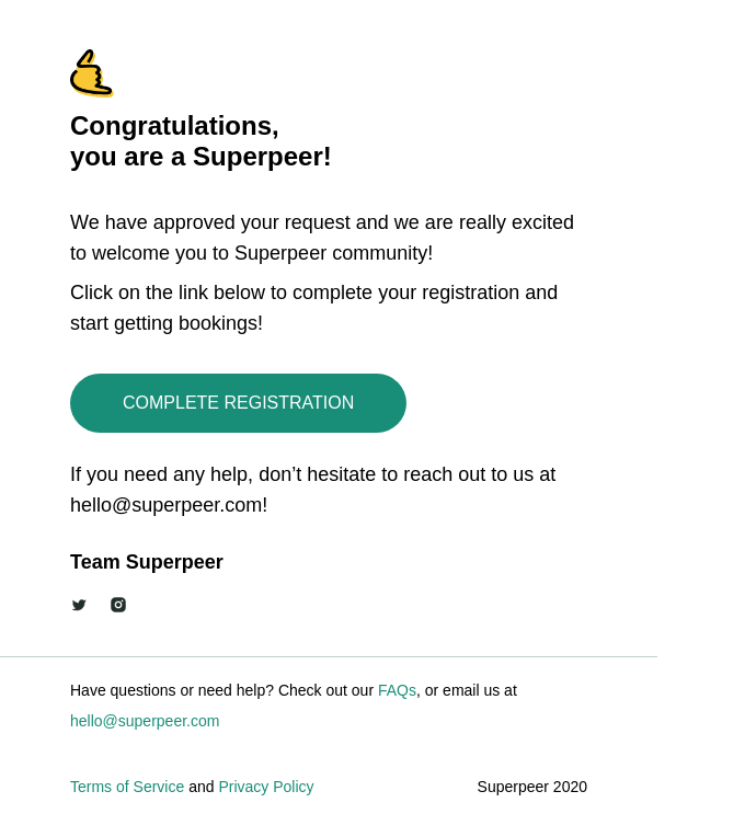 Welcome to Superpeer