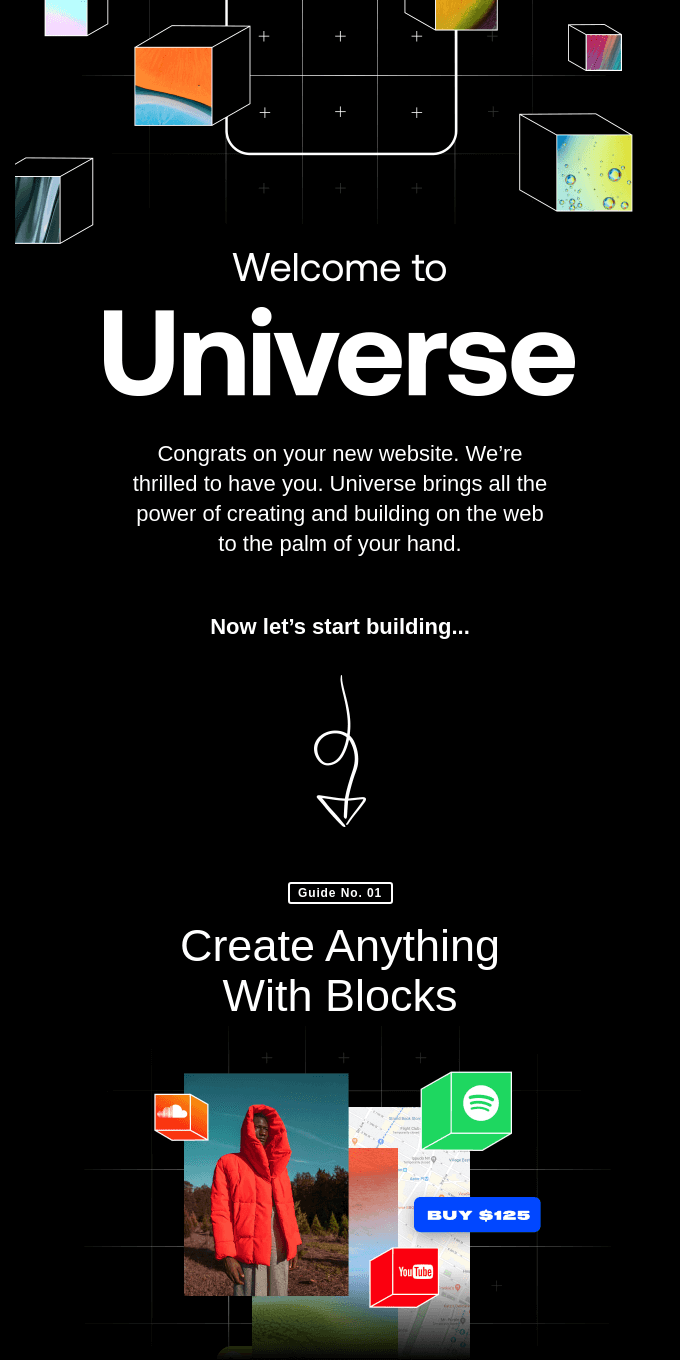 Welcome to Universe