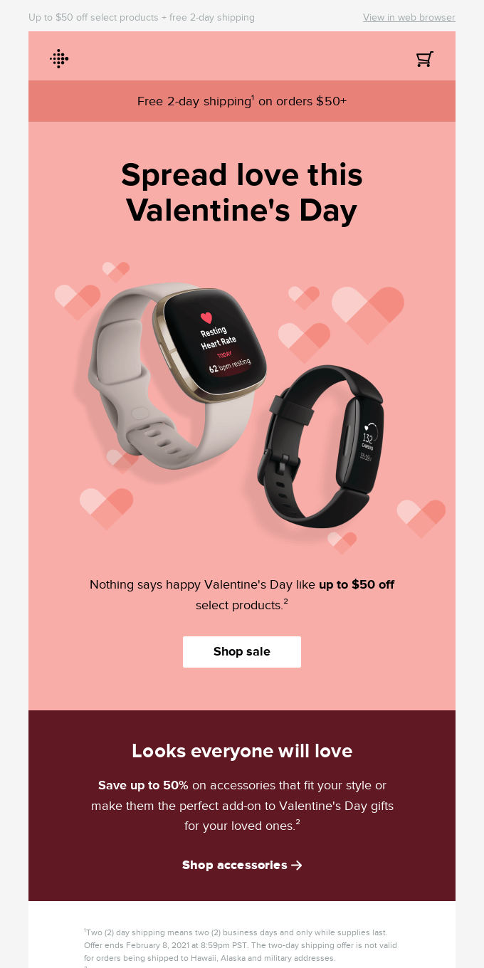 We're all heart eyes for this sale 😍