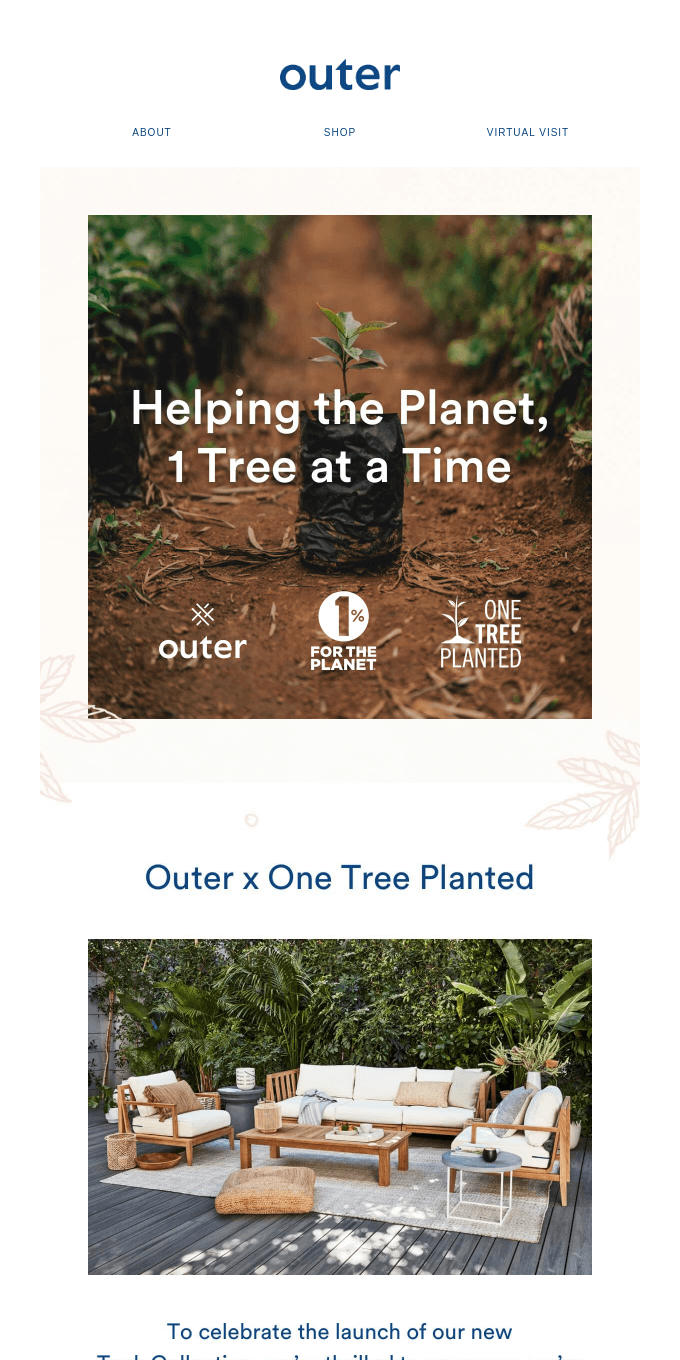 We're Saving the Planet, One Tree at a Time