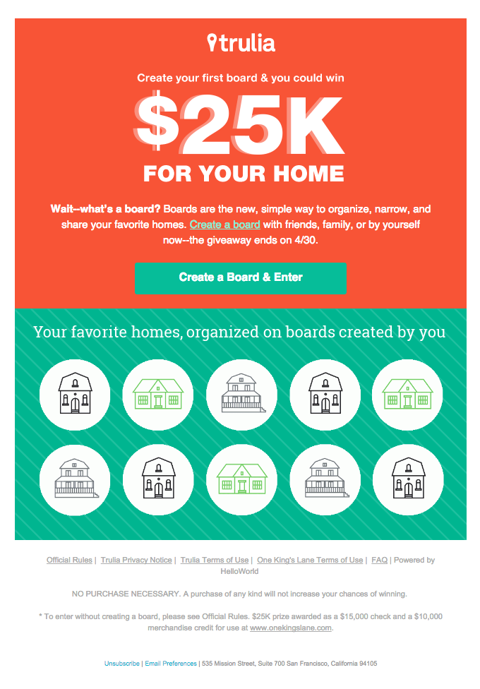 Win $25K + Simplify Your Home Search!