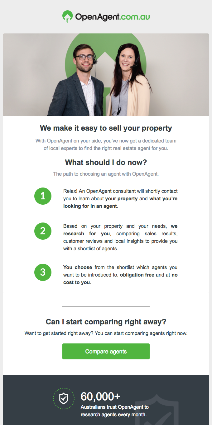 With OpenAgent On Your Side, Selling Your Property Can Be Easy.