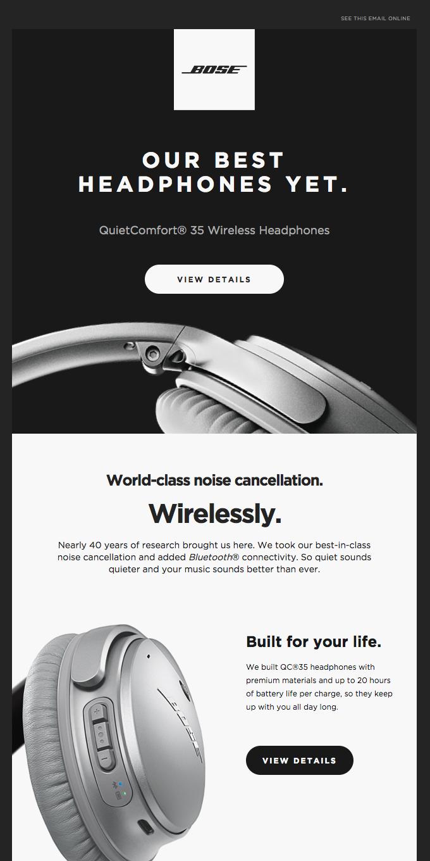 World-class Noise Cancellation + Wireless Freedom