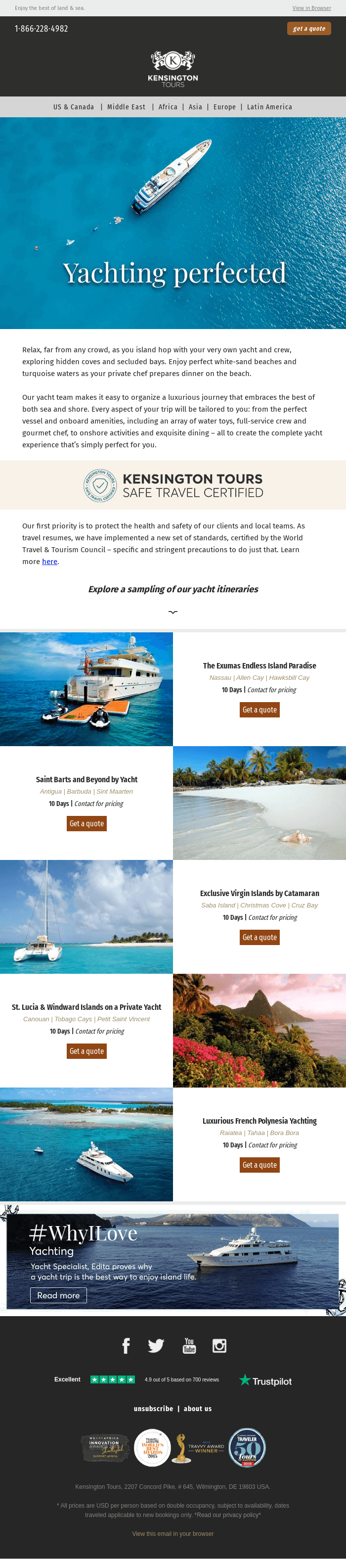 Yachts: a luxurious and enchanting experience