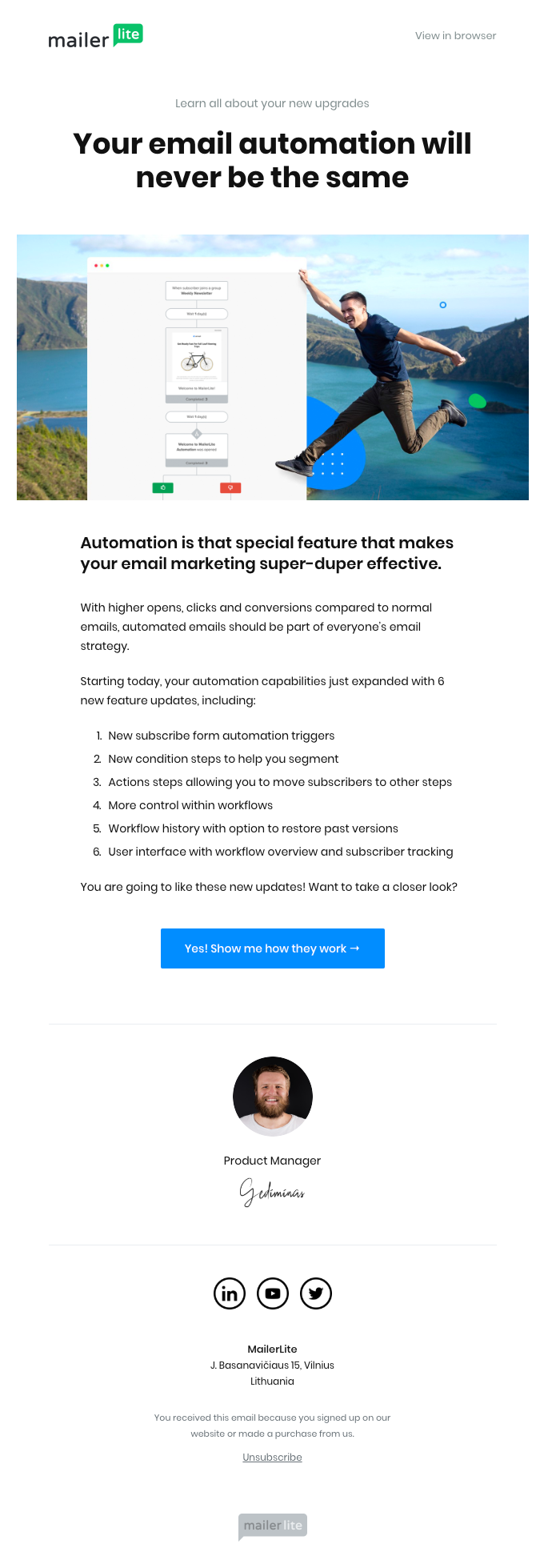 You have 6 new automation upgrades to try today!