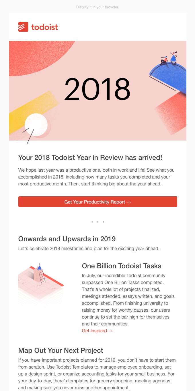 Your 2018 Year in Review 🚀