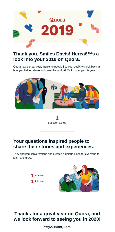 Your 2019 on Quora