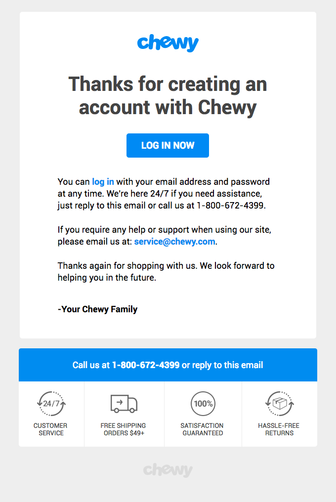 Your Chewy.com (http://chewy.com/) account