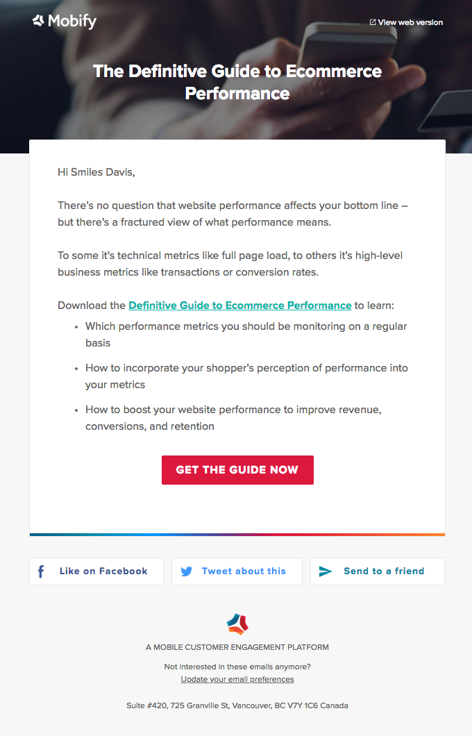 Your definitive guide to ecommerce performance
