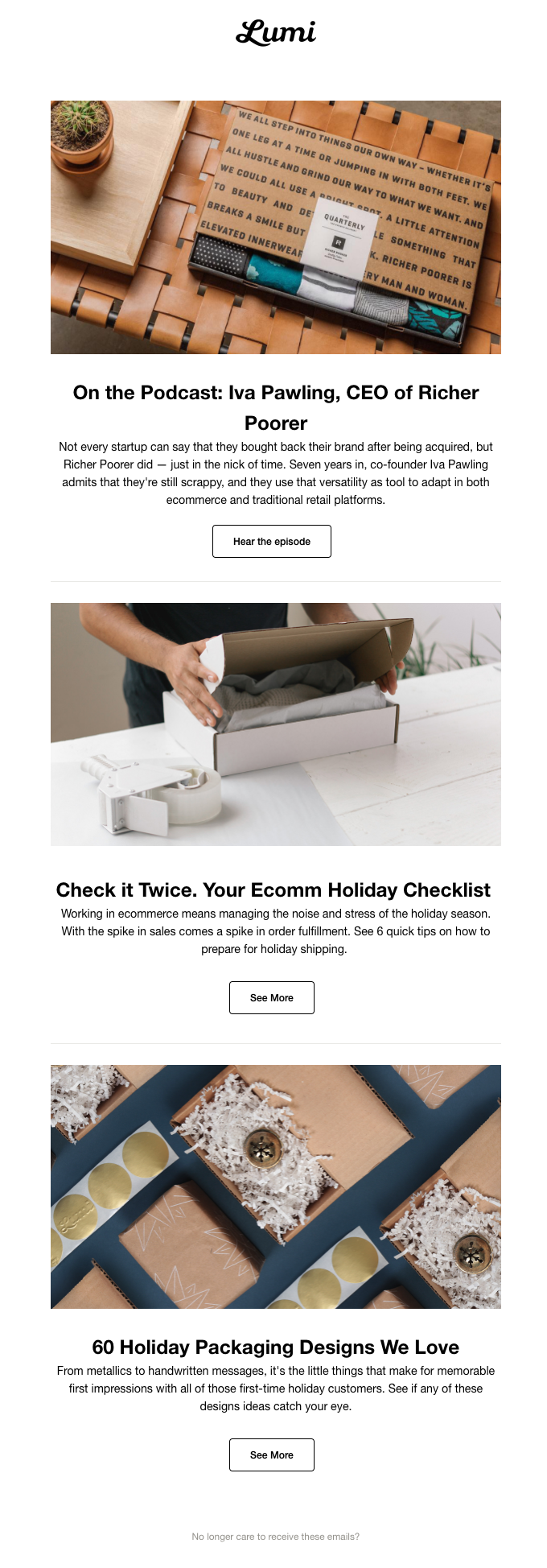 Your Ecomm Holiday Checklist + A New Episode of the Podcast!