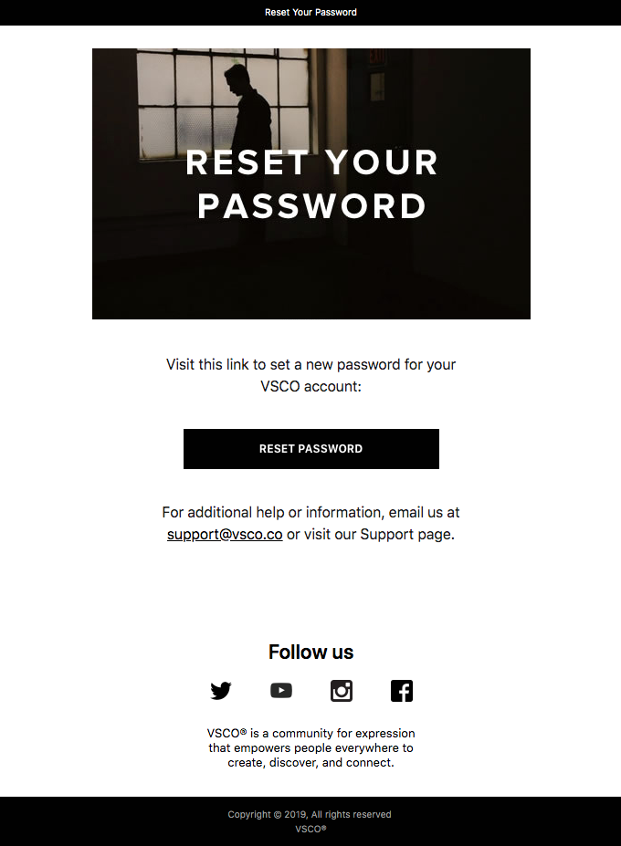 Your Password Reset Request