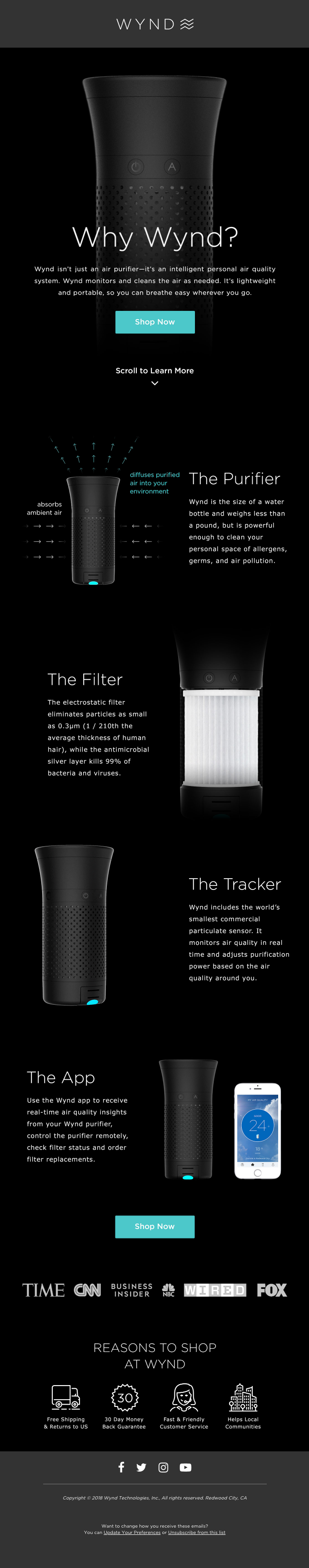 Your Personal Smart Air Purifier